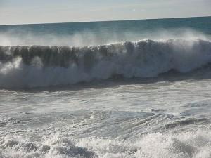 verandering storm ruwe zee