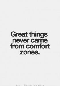 quote comfort zone
