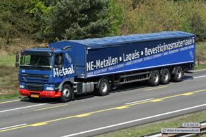 MCB vrachtwagen onderweg