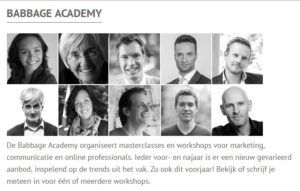 Babbage Academy - Marlene Dekkers