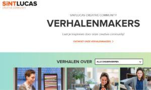 Verhalenmakers SintLucas- workshop vloggen Marlene Dekkers