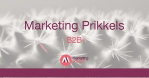 B2B Marketingprikkels - Marlene Dekkers