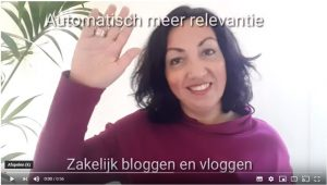 zakelijk vloggen - Marlene Dekkers Marketing Accent