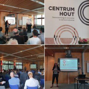 Spreker Marlene Dekkers - Houtcafé Centrum Hout 12-9-19